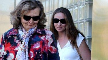 Vera Oreshkin at NSW Coroner's Court.