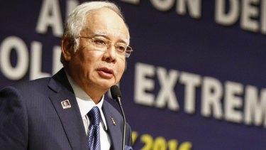 Scandal-ridden: Malaysian Prime Minister Najib Razak.