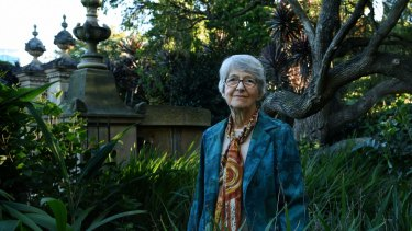 """It has been a 'golden age' of new understanding in biology."" Dr Barbara Briggs has worked for the Royal Botanic Gardens for 57 years."