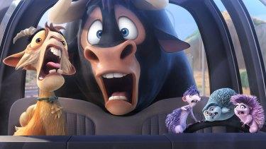 Ferdinand: Big, bright, loud, fast.