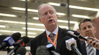 Sydney Trains chief executive Howard Collins.