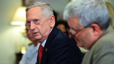 Defence Secretary Jim Mattis is reported to have clashed with White House officials over the Iran agreement.