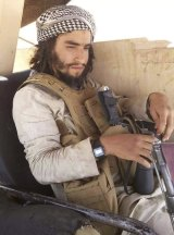 """Khaled Abdaoui a senior ISIS """"cutter"""" in Syria, responsible for beheadings, one of several ISIS fighters from the Tunisian town of Ouslatia."""