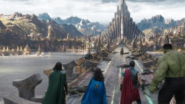 Superheroes join forces in <i>Thor: Ragnarok</I>, which opens at cinemas on October 26.