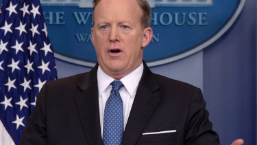 White House press secretary Sean Spicer said he was not aware of any meetings.