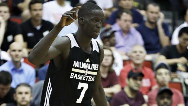Milwaukee Bucks' Thon Maker has picked up a pre-season wrist injury.