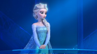The name 'Elsa' is growing in popularity.