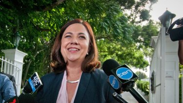 Premier elect of Queensland, Annastacia Palaszczuk.