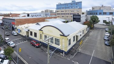 The former Phoenix Biscuit Factory at 41 Grosvenor Street in Abbotsford.