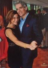 Amy Krouse with husband, Jason.