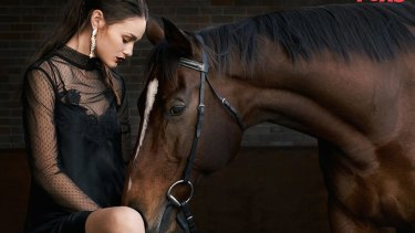 The ATC's security horses featured in last year's series of <i>Australia's Next Top Model</i>.