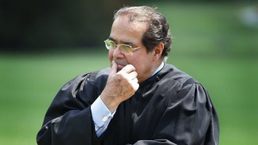 US Supreme Court Justice Antonin Scalia died in February.