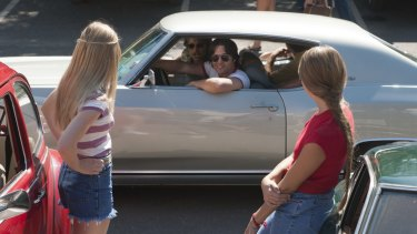 The main characters in <i>Everybody Wants Some!!</I> do plenty of cruising around and ogling at girls.