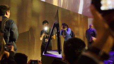 Sony introduces its first Bravia OLED TV.