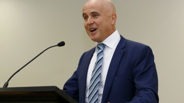 Adrian Piccoli quit politics last month.