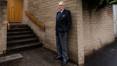 Architect Neil Cherehan, 93, does not believe in a fixed retirement age.