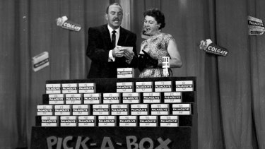 Bob Dyer's Pick-a-Box was there in the early days of Australian television and ran until 1971.