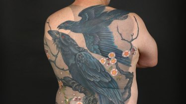 Tattooing is a vibrant international art form, not just a criminal activity, says Fulbeck. Tattoo by Jeff Gogue.