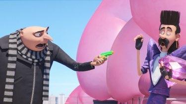 Steve Carell again voices Gru while Trey Parker is Balthazar Bratt.