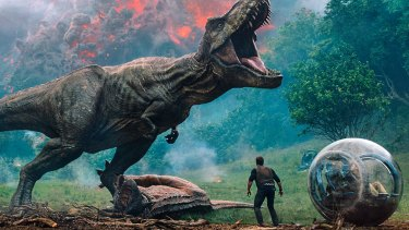 The Jurassic World series has always been a leader in the art of animatronics and the dinosaur breeds on show are more varied than ever – and more convincing.