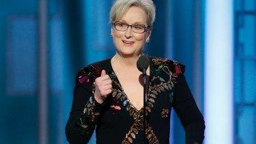 Meryl Streep tore into Donald Trump in her Golden Globes acceptance speech.