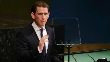 Austrian Foreign Minister Sebastian Kurz could form a coalition government with the anti-immigration Freedom Party after the October 13 elections.