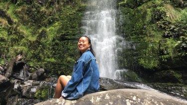 Tanya Thongpanich, a student from ANU Canberra