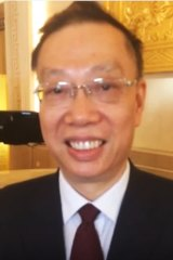 Reappointed: Dr Huang Jiefu.