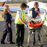 Ambulance ramping leaves RFDS patients stuck in shed for hours