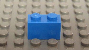 Lego brick 1 x 2.