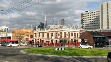 The Corkman Irish pub in Carlton, built in 1857, as it was last October.