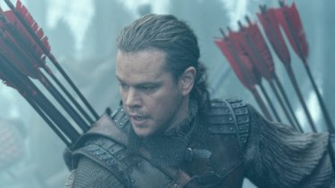 Matt Damon's China-set science fiction epic The Great Wall also suffered dismal audience numbers.
