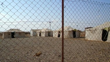 Some 1100 Yemeni refugees call canvas tents home at the Obock refugee camp along the Red Sea in Djibouti.