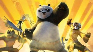 A scene from <i>Kung Fu Panda 3</i>.