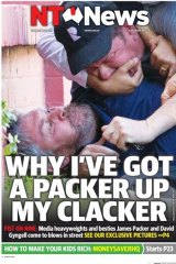 NT News front page.