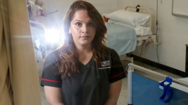 Yamatji-Badimia woman and aspiring nurse Banok Rind said racism was an enduring problem among healthcare providers.
