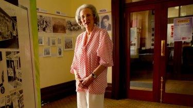 Women's rights activist Zelda D'Aprano at Trades Hall.