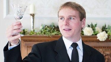 Former royal butler Grant Harrold.