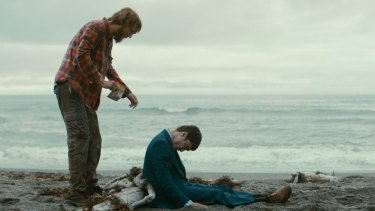 Best buddies: Hank (Paul Dano, left) and Manny (Daniel Radcliffe) form an unusual friendship given Manny is dead.