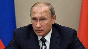 Moscow has now bombarded anti-Assad targets in Syria: Russian President Vladimir Putin.