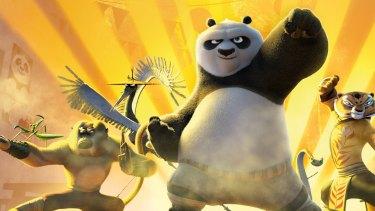 <i>Kung Fu Panda 3</i>.
