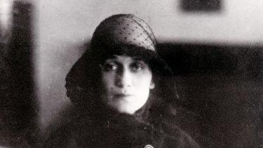 Anna Akhmatova Anne Andreevna Akhmatova Leningrad 1934 poet.