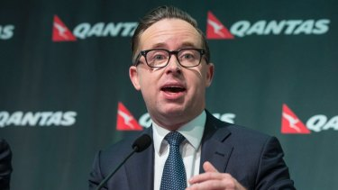 Qantas boss Alan Joyce announced the airline's first dividend in seven years last month. He'll get a good payout too.