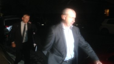 AFP raid a Labor staffer's house in Brunswick on Thursday night.