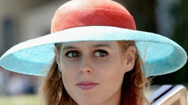 Princess Beatrice reportedly sliced Ed Sheeran's face during a party prank.