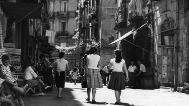 Elena Ferrante's novels follow two friends in Naples over 60 years.