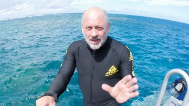 Tim Flannery visited the Great Barrier Reef a few weeks ago.
