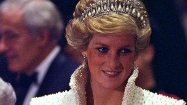 Princess Diana in 1989.