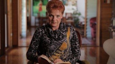 One Nation sentor Pauline Hanson.