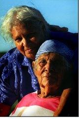 Generations: Doris Pilkington Garimara and her mother, Molly Craig.